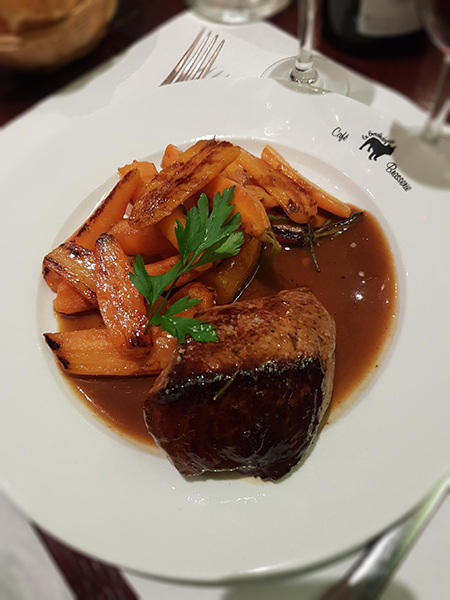 Restaurant Brasserie Le Bouledogue - Filet de boeuf